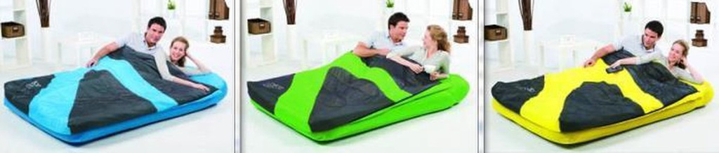 !!191cm x 137cm x 22cm Aslepa Air Bed - Double
