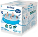 3.05mx76cm FastSet Pool+filtercartridge