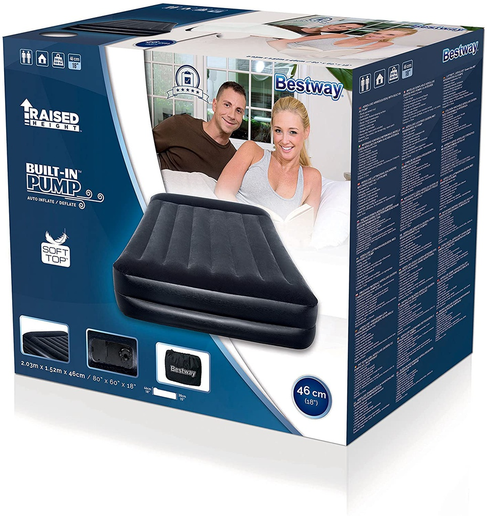 203x152x46 Premium Air Bed/Queen