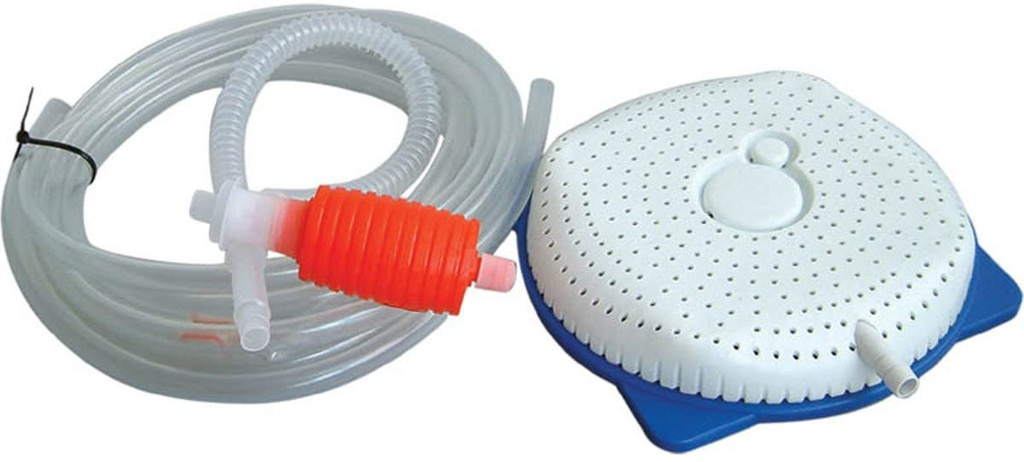 Pool Cover Drainer 15' Hose & Syphon