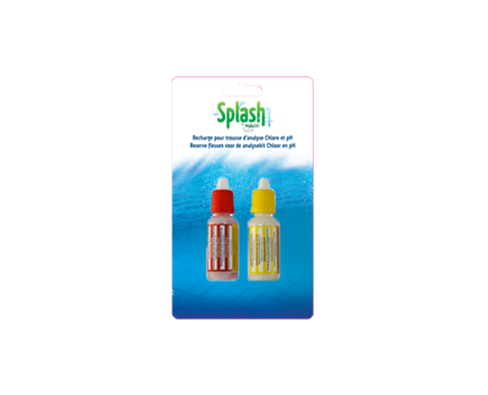 Splash Recharge pour kit pH/chlore